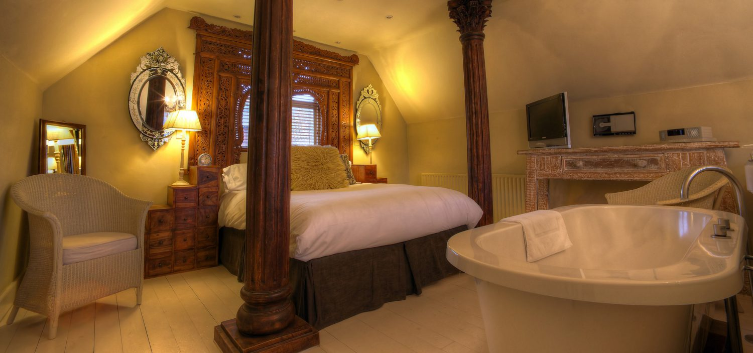 Strattons Hotel Luxury Boutique Accommodation, Swaffham, Norfolk - Opium Suite